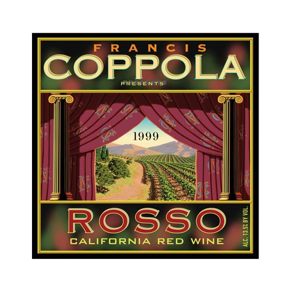 Francis Coppola ROSSO Wine Label