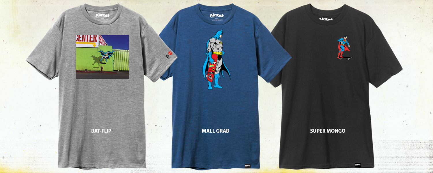 Almost_Skateboards_DC_Comics_Tee_Shirts