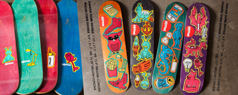 Almost_Skateboards_Dumb_Doodle
