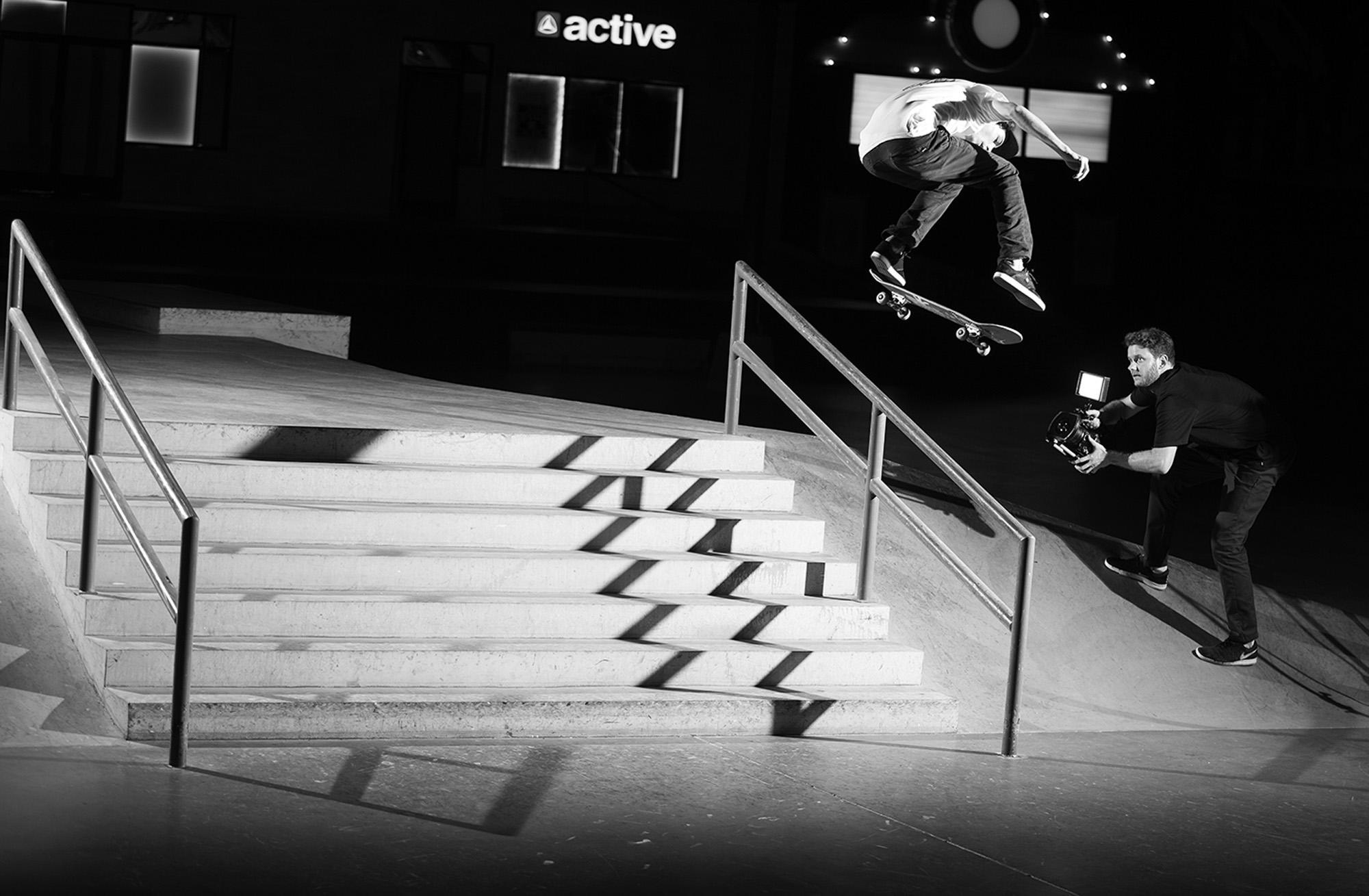 Tyson Bowerbank Almost Skateboards - The Berrics Recruit 2