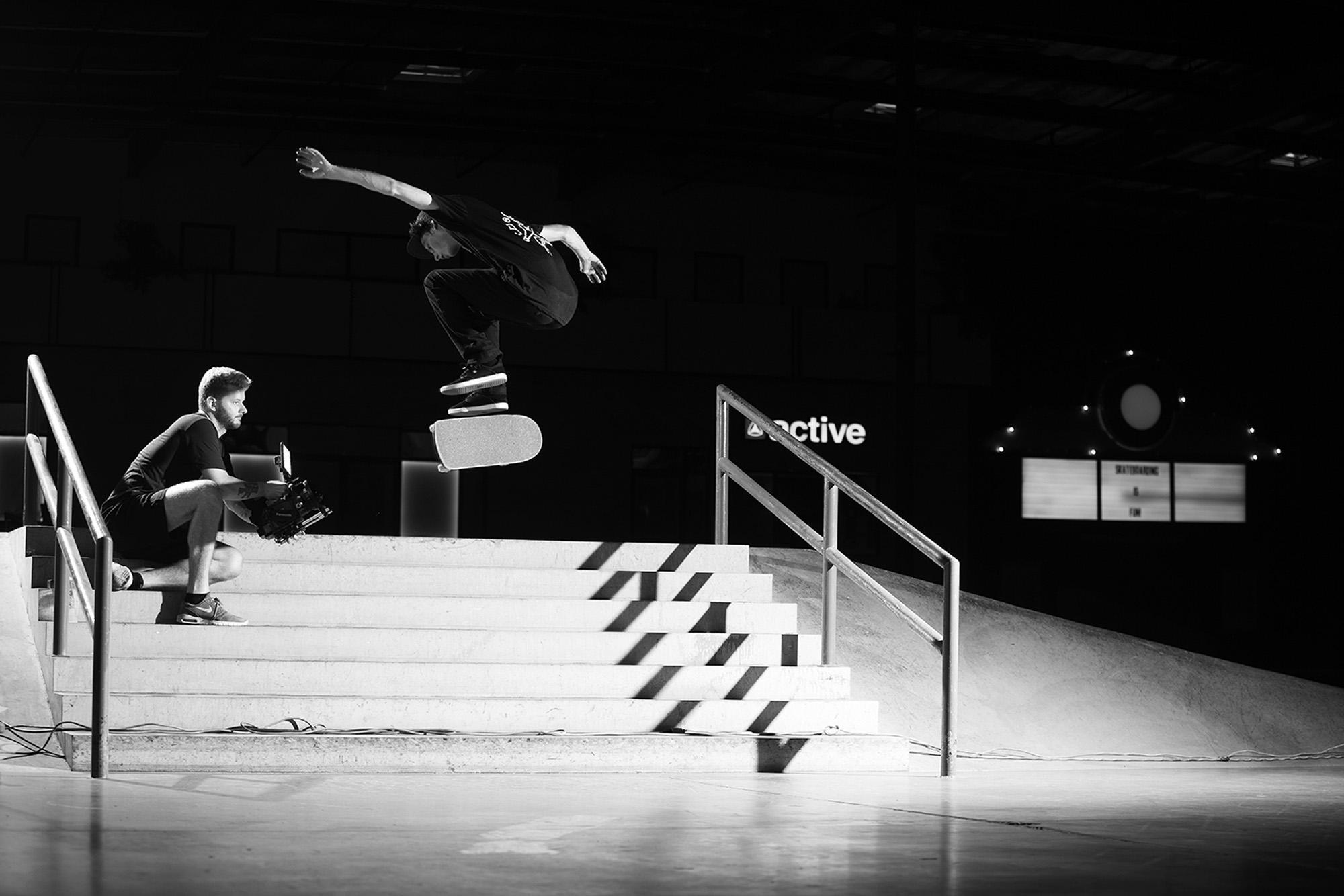 Tyson Bowerbank Almost Skateboards - The Berrics Recruit 7