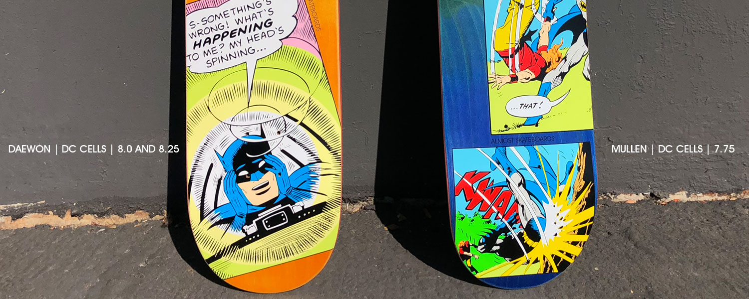 Almost Batman Skate deck daewon song Rodney Mullen cells