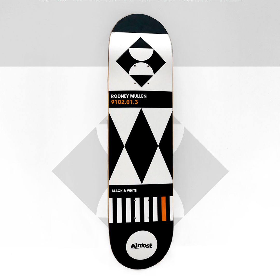 Almost Skateboards Rodney mullen Deck Impact Light Construction
