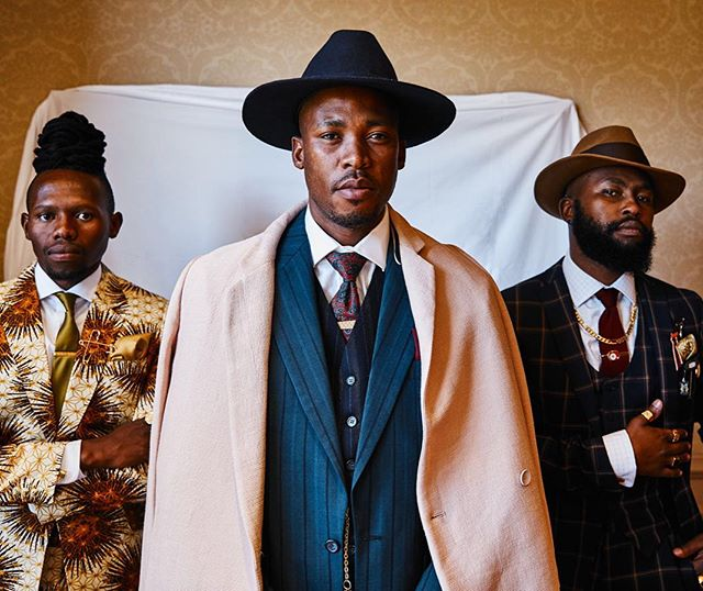 South African Kings. Part 2.  Styling by Jeanne Maritz.