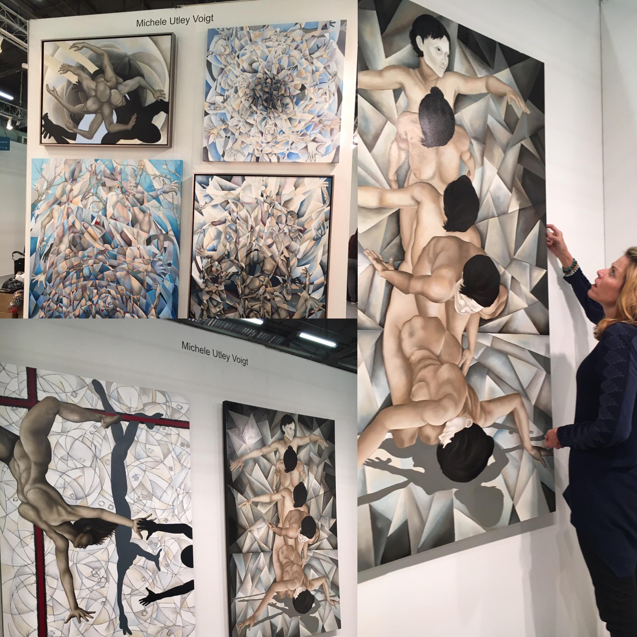 Installation day @ArtExpoNewYork April 2016