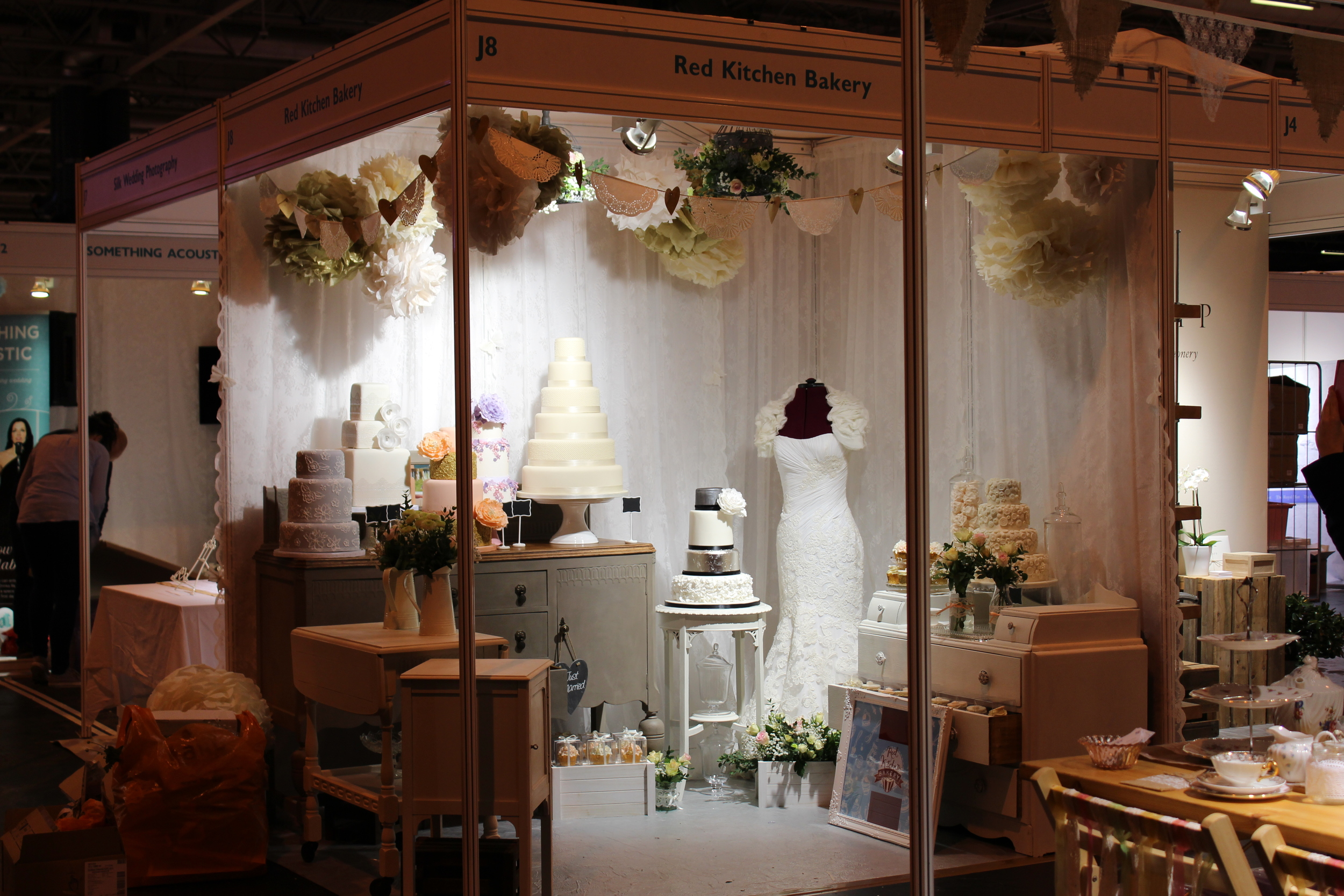 Red Kitchen Bakery Stand J8 National Wedding Show