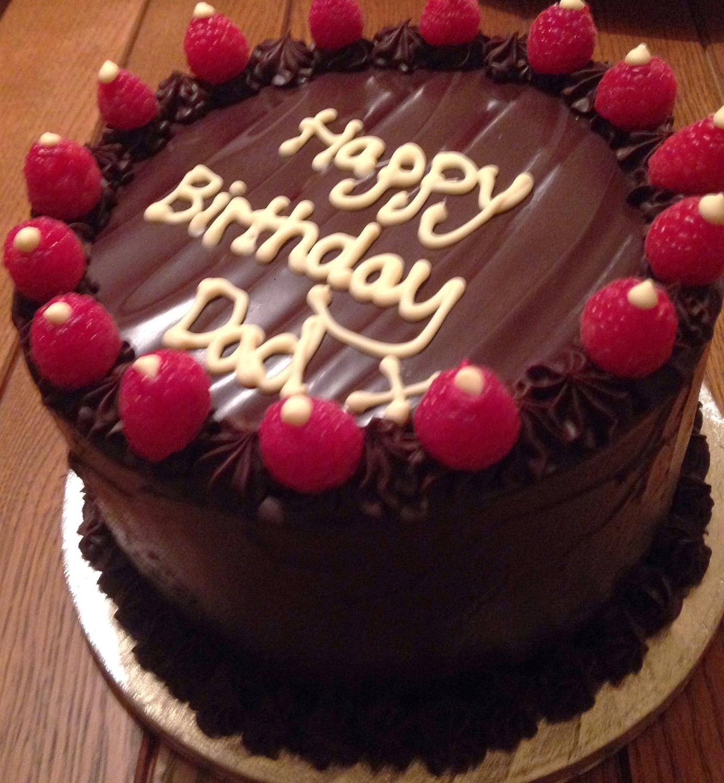 Chocolate Brownie Ganache Cake