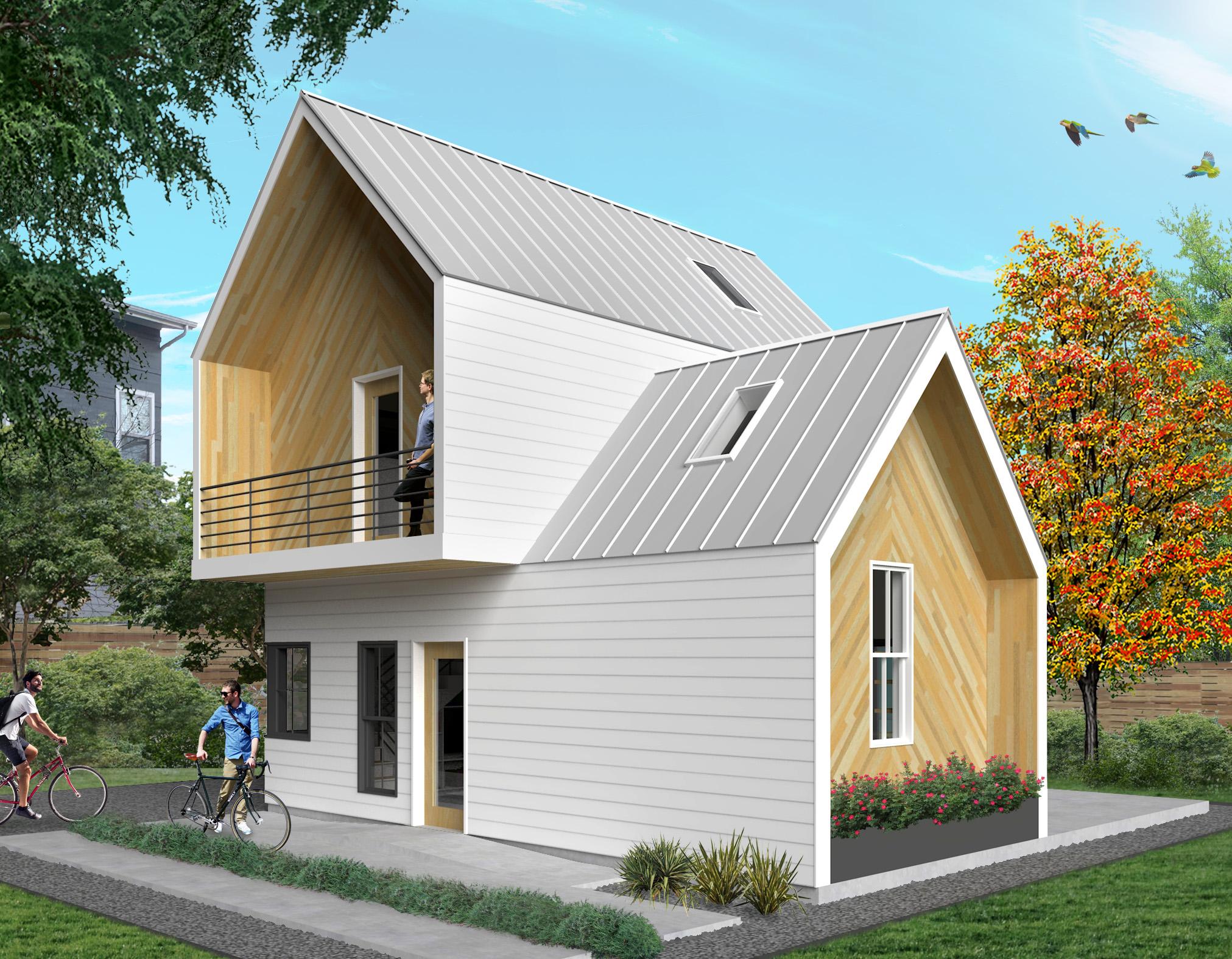 Holly St. ADU - rendering by Elliott Petterson