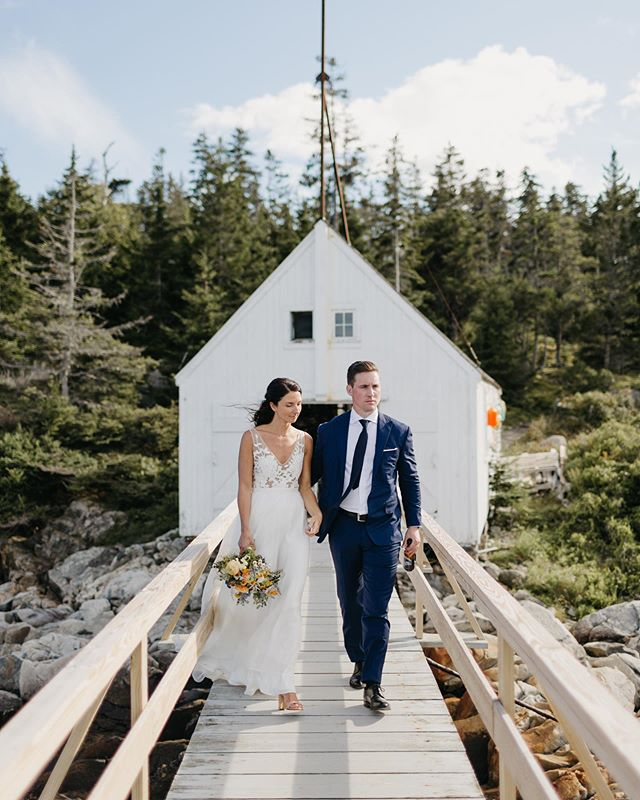 Chris and Allie 🖤 thanks for shipping us all out to Isle au Haut for a real Maine adventure.
