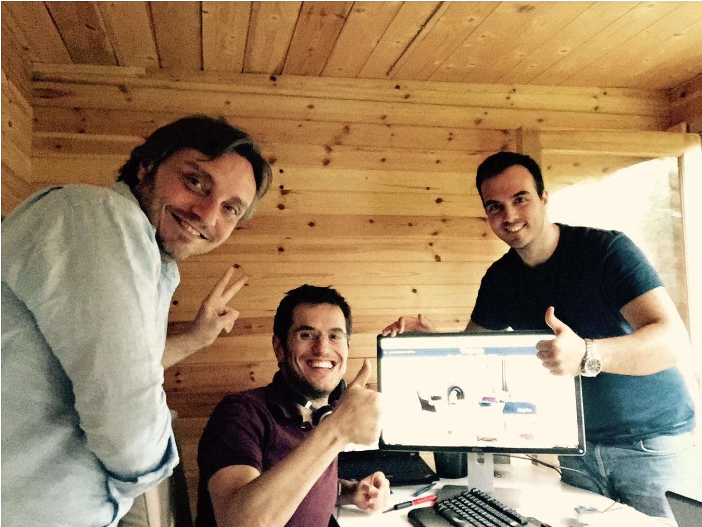 Massimo De Conti, Alessandro Celli, Donato Villani – Summer base in Hampstead