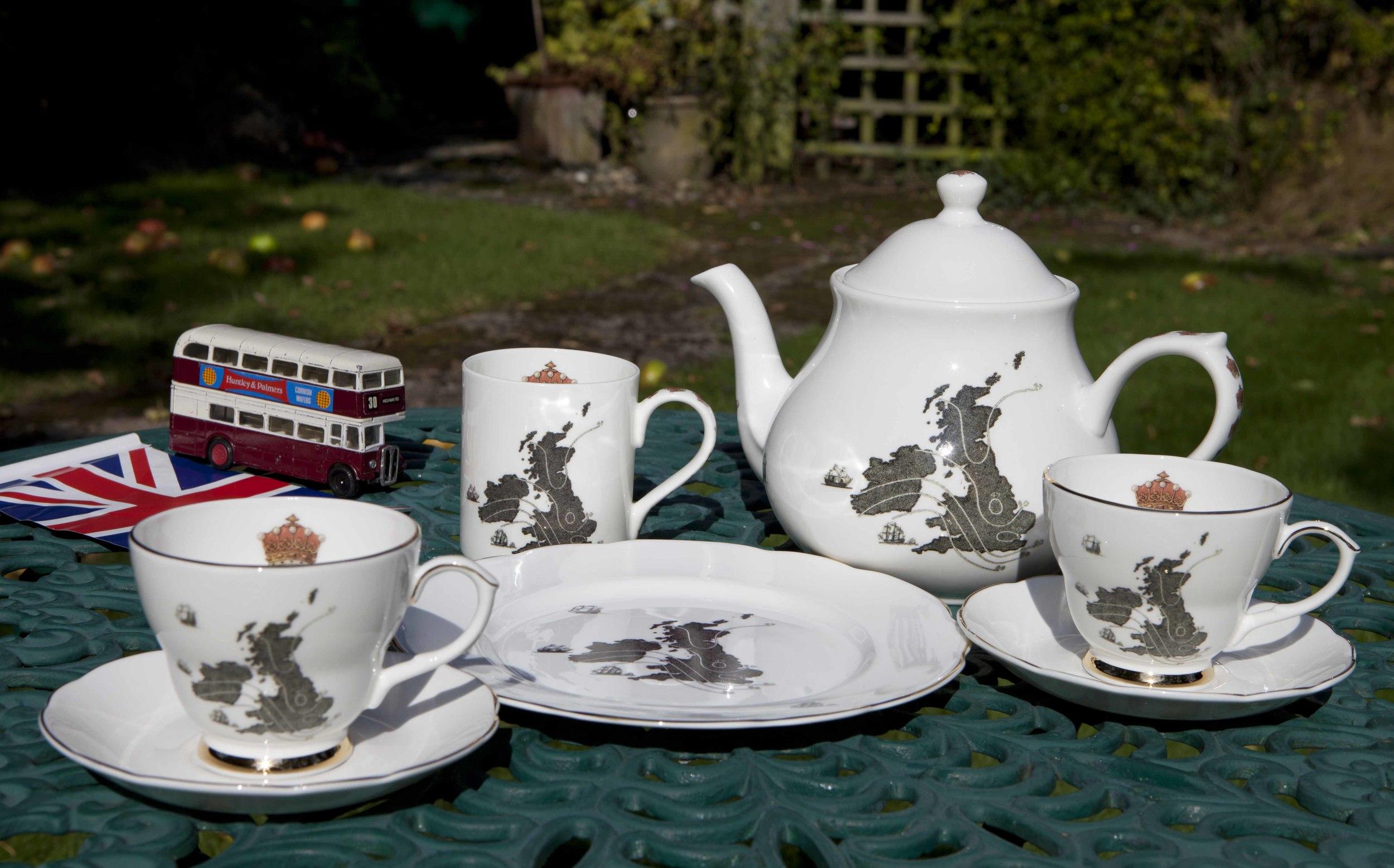Ali Miller Teapot . As seen on BBC Sherlock TV Series. Ali Miller is a local South Hampstead Mum.