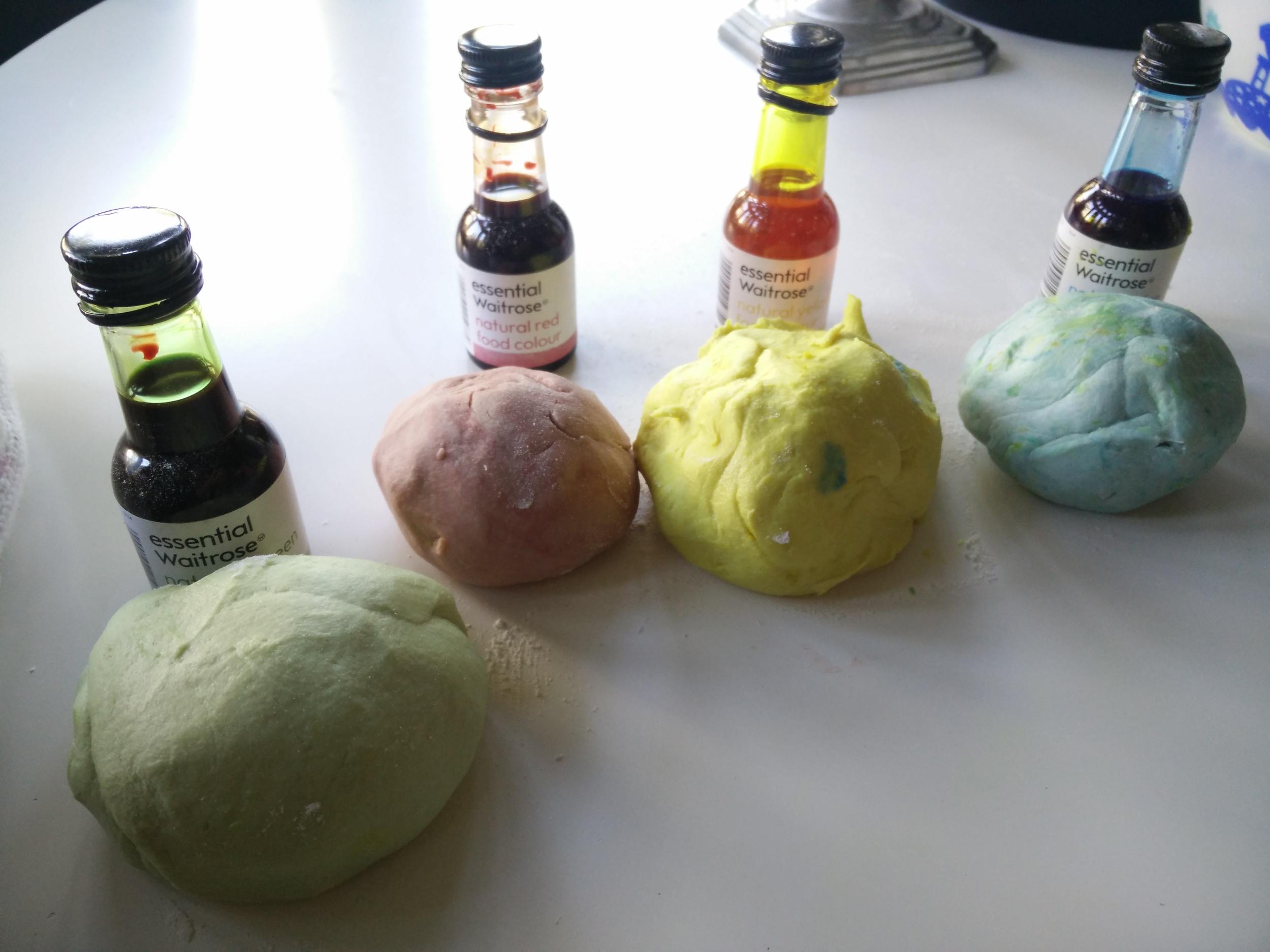 play dough colourful hampstead mums