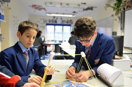 Pupils at Fairley House School (Photo from www.fairleyhouse.org.uk)