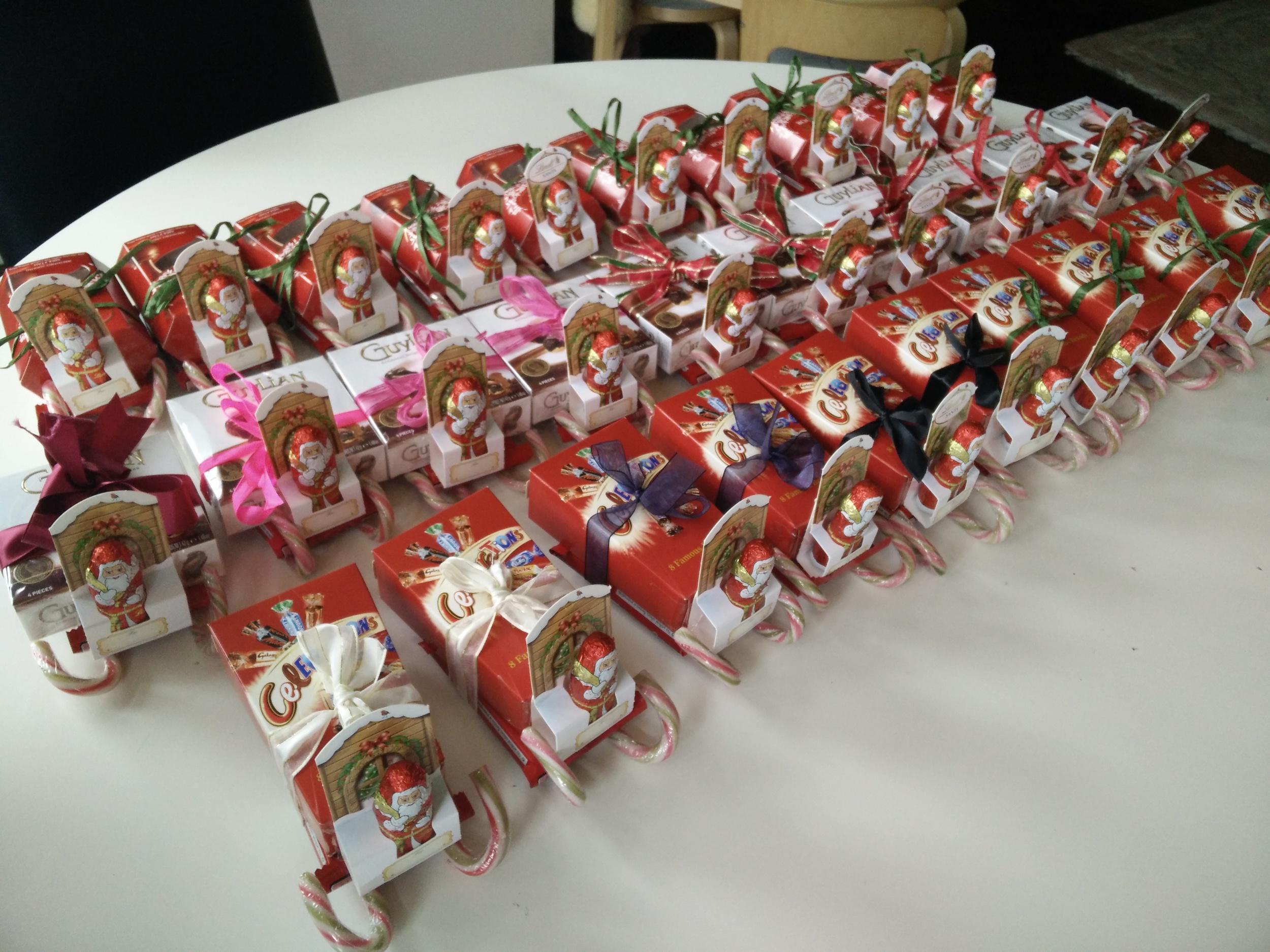 candy sleigh santa diy hampstead mums