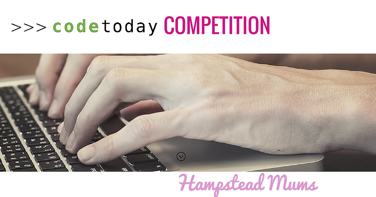 CodingToday Hampstead Mums Competition