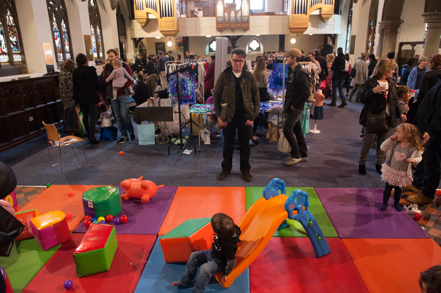 Soft Play. Hampstead Mums Spring Fayre