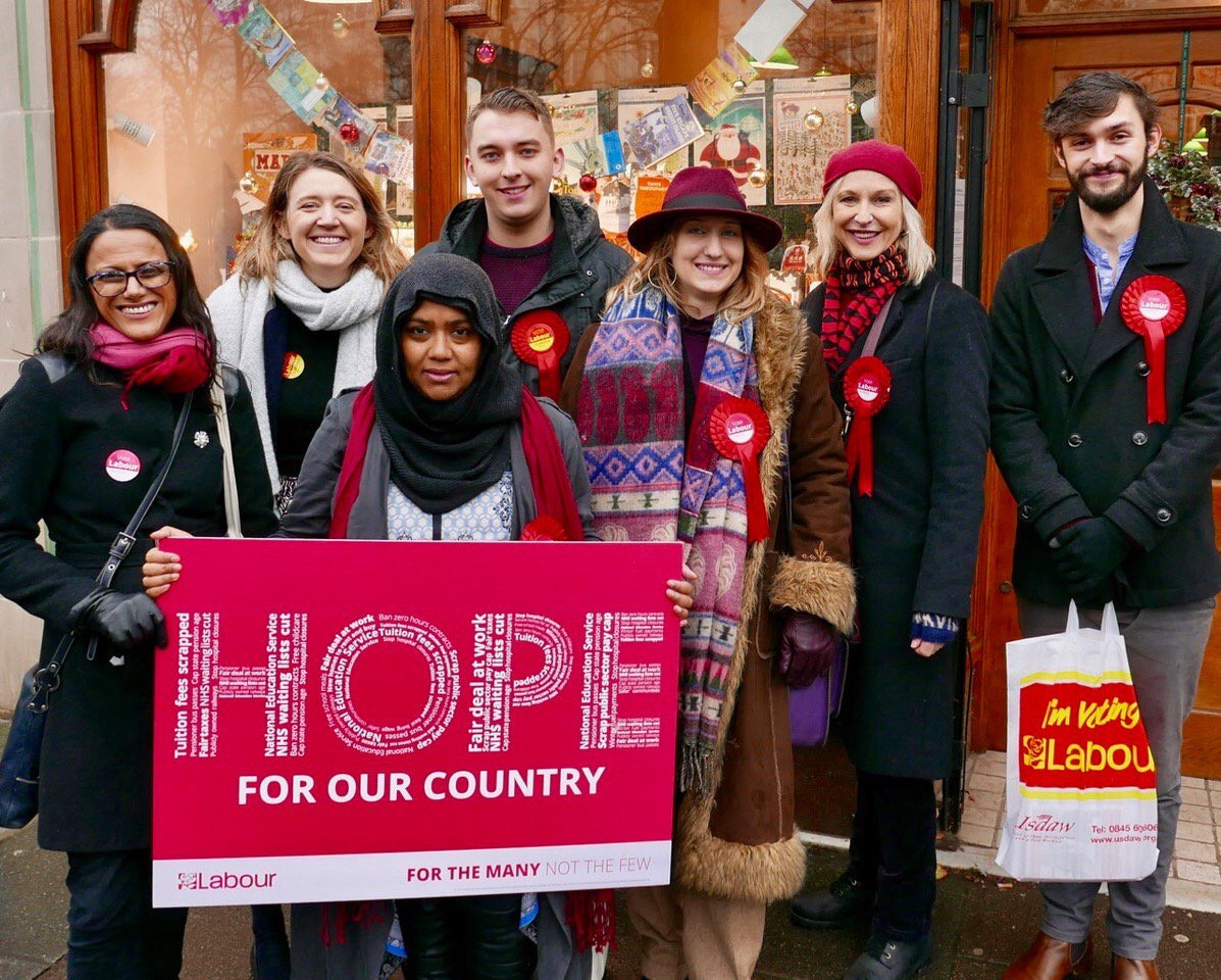 James Slater Labour Hampstead Mums