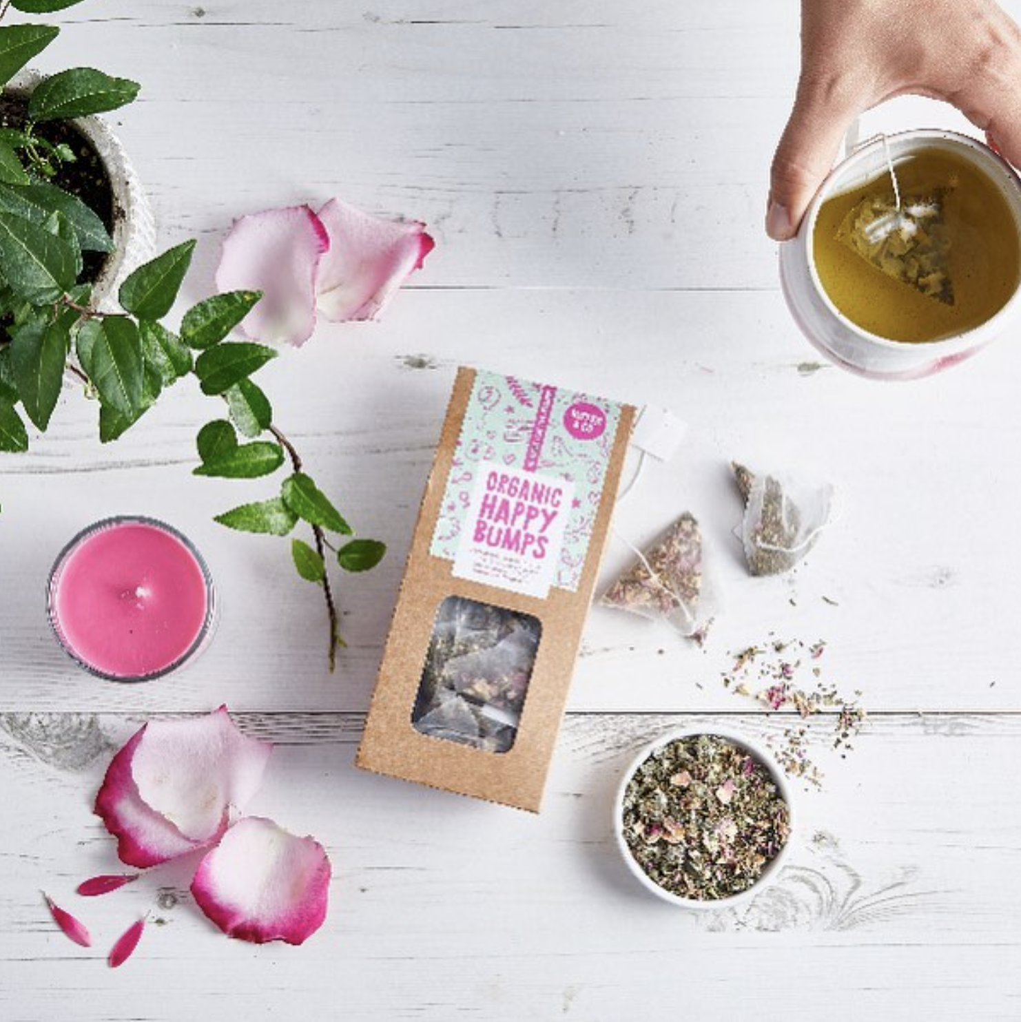nipper co hampstead mums tea herbal organic