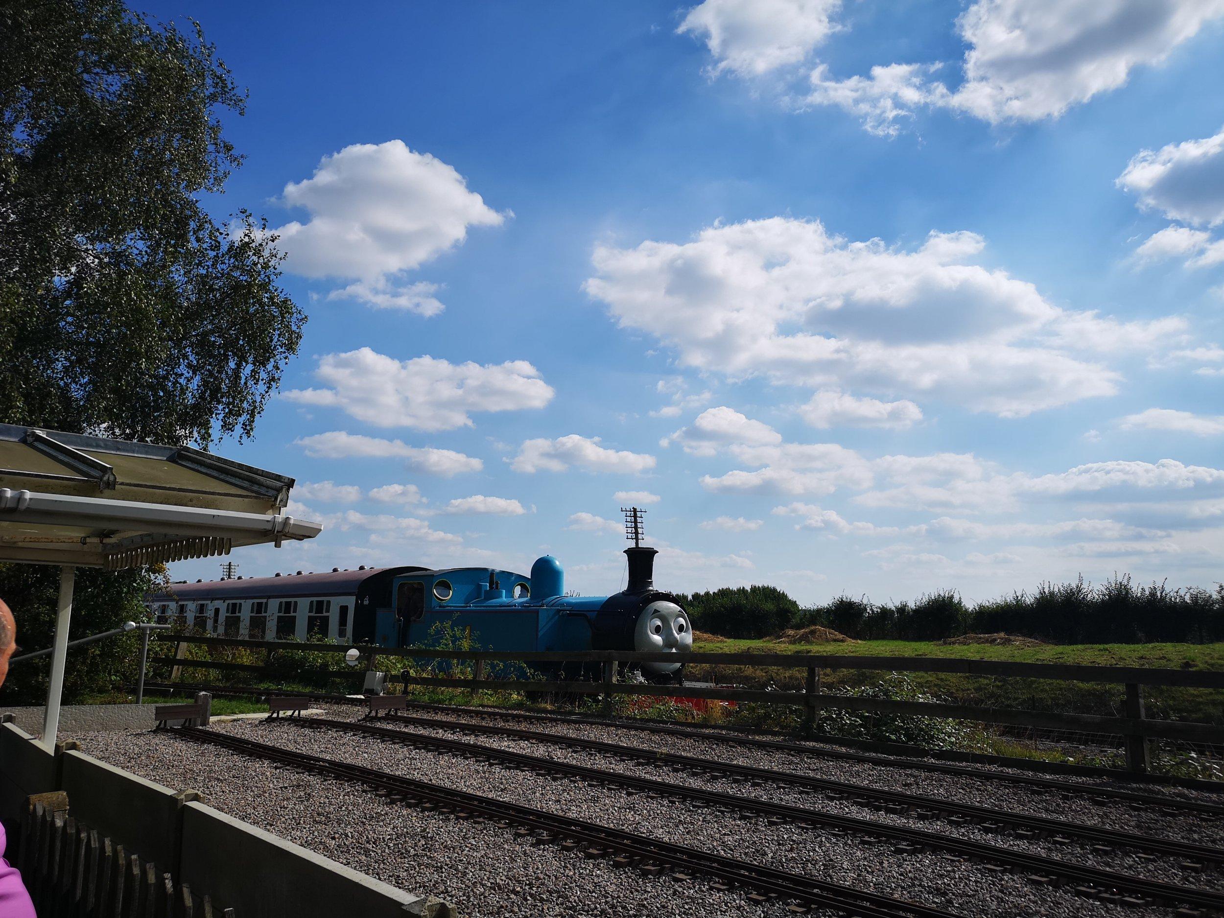 Buckinghamshire railway centre.