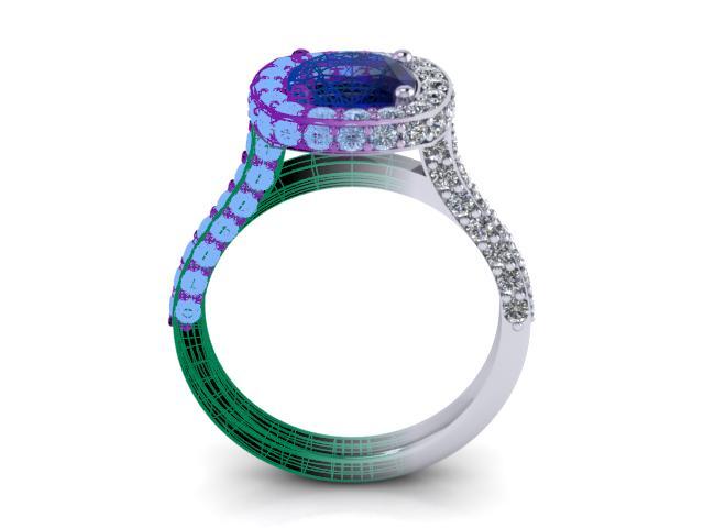 CAD/CAM Bespoke jewellery diamonds Elgin
