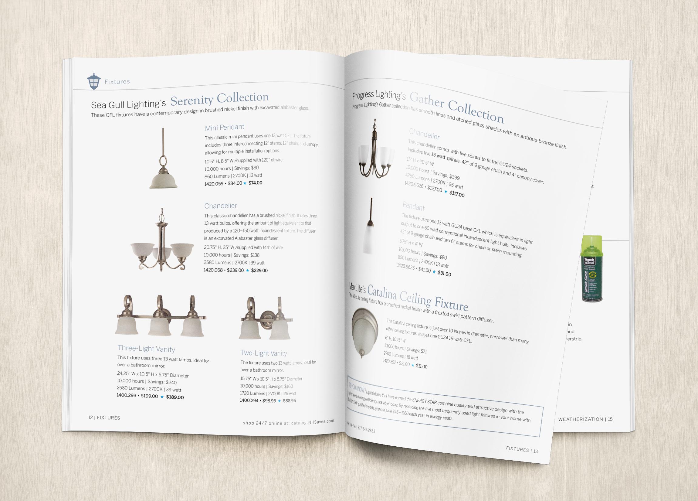 NHSaves Lighting Catalog - 2014