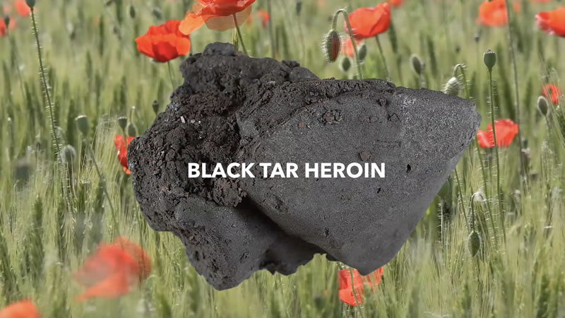 A closer look at the rise of black tar heroin