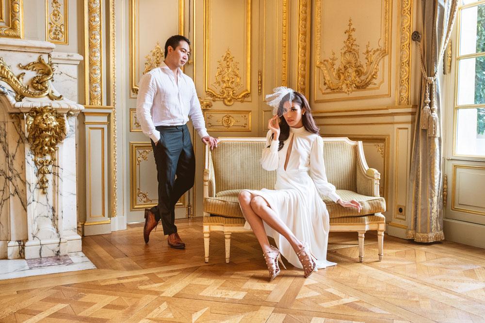 Family photographer in Paris; Christian Perona; Family; Family photoshoot; Paris for Two; Jumping; Eiffel tower; Bir-Hakeim;