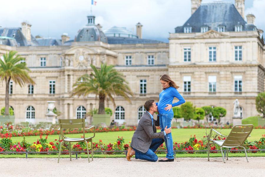 Paris-photographer-Paris-for-Two-Christian-Perona-engagement-love-pre-wedding-proposal-Luxembourg-garden-flowers-spring-pregnant-2.jpg