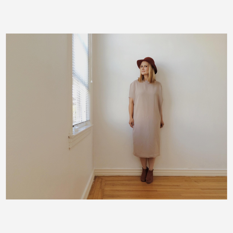 Dress by  Kaarem  .