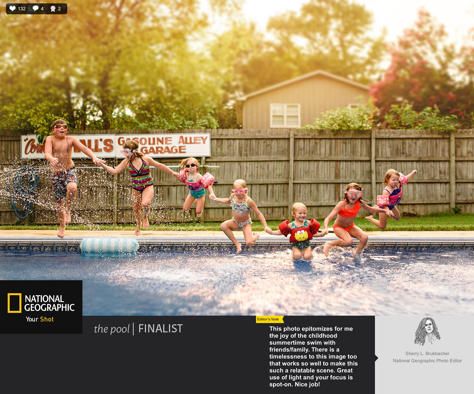ONLINE - National Geographic Daily Dozen — March 1, 2019 // LINKNational Geographic Daily Dozen — September 14, 2018 // LINKNational Geographic Editors' Spotlight — July 13, 2018 // LINKNational Geographic Pool Story — August 10, 2015 // LINK
