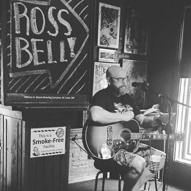 Ross Bell performing from 4-7. You can catch Ross two Sundays a month. Take a look at our band calendar for future listings. #localmusic #supportlocal #stlbbq #stl #stlfoodie #stlrestaurants