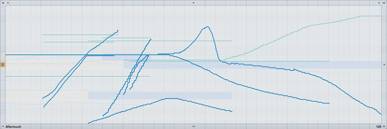 Amplitude and pitch data.