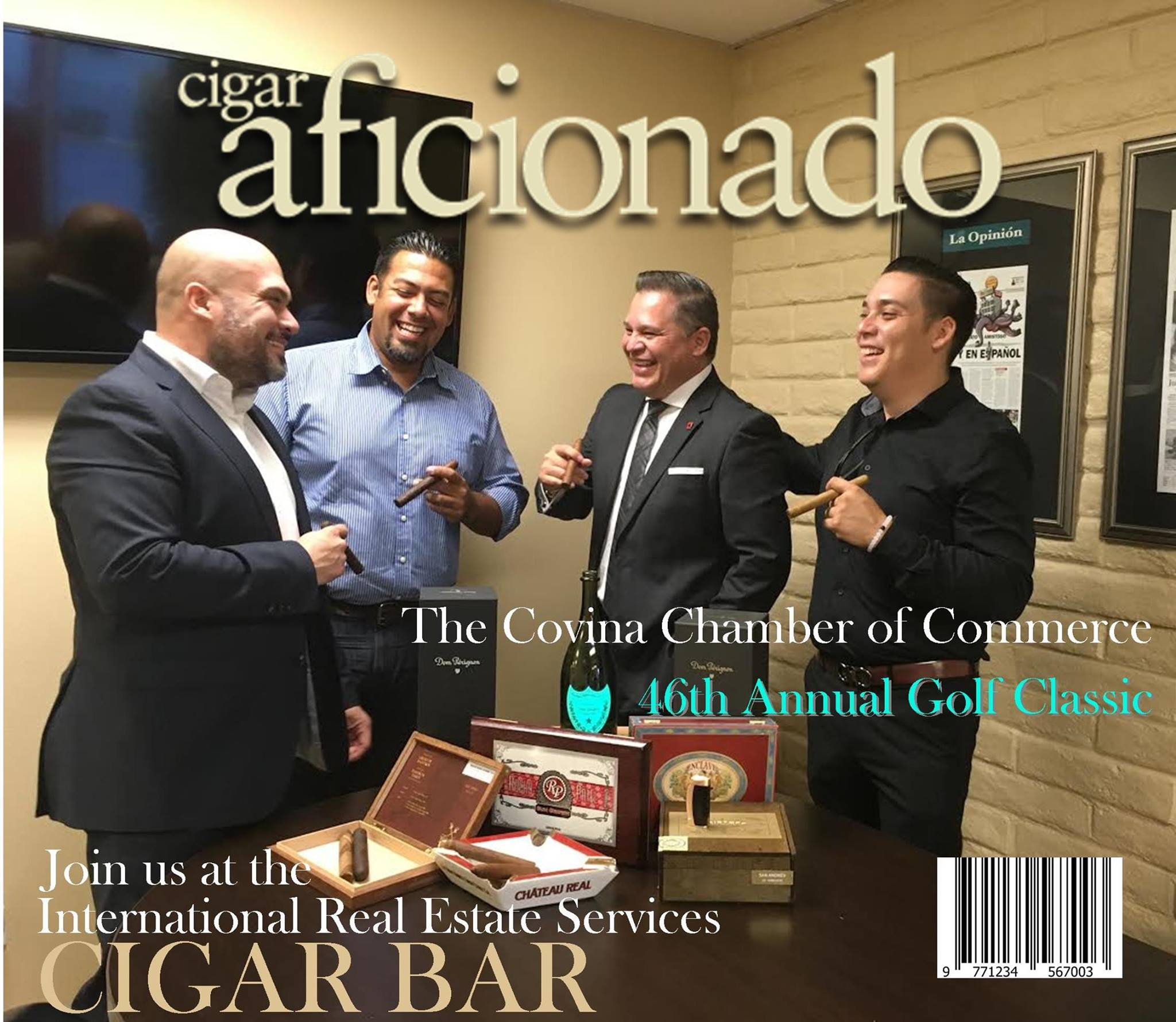 Join International Real Estate Services at our VIP Cigar Bar!  The Covina Chamber of commerce Proudly Presents the 46th Annual Golf classic Monday, October 24, 2016  A Portion of the Proceeds Benefiting  The Covina Police Dept. K-9 Program  at South Hills Country Club  2655 South Citrus Street, West Covina CA 91791  FOR MORE INFORMATION: VISIT: www.covina.org  CALL: (626)967-4191 - Covina Chamber of Commerce EMAIL: Chamber@Covina.org