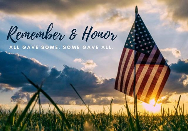 Our office will be closed Monday, May 27th in observance of Memorial Day.🇺🇸 . . . Please take the time to remember the fallen soldiers and their families that have sacrificed for our freedom! 🇺🇸🇺🇸🇺🇸