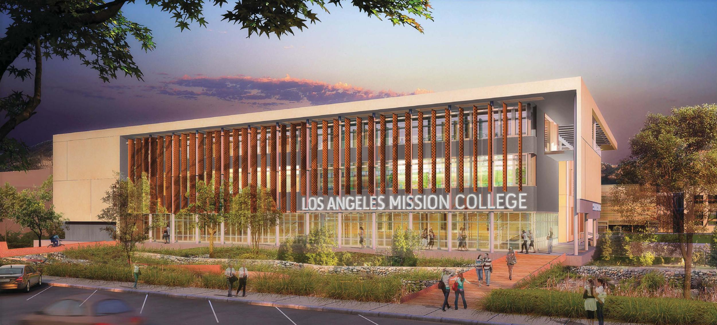LA Mission College Student Services Center Building Program