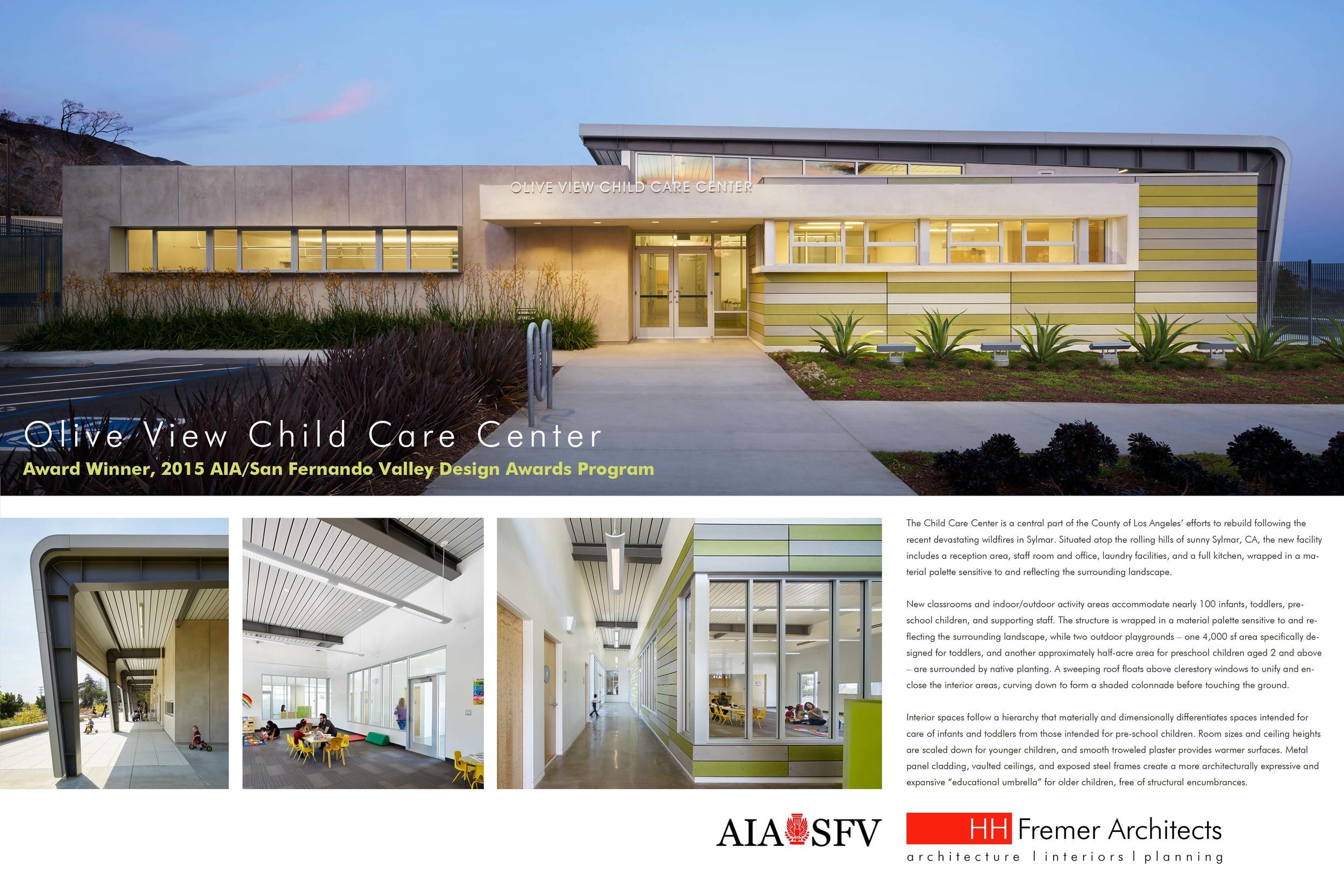 OVMC Child Care Center Project Board