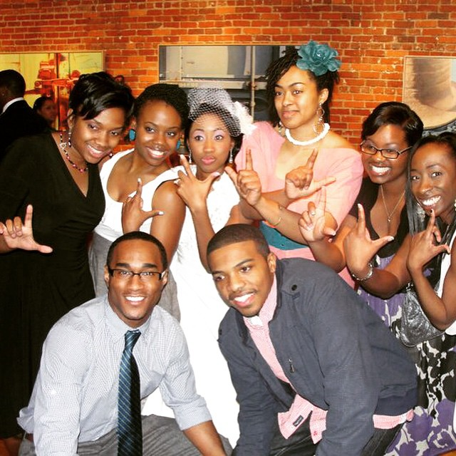 """#tbt with some of the original members of #Level316! We look sooooooo young! BIG shout out to @deborah_hughes & @pearlprojects a couple of the OG's from back in the day. Even at the beginning we were thick as thieves. Over the years it's been dope to watch people grow and go onto other great things. Make sure yall support @pearlprojects newest single """"Hello"""" and follow @deborah_hughes and her clothing line @iamdvaria too! #only6ways2doit #tbt #level316"""