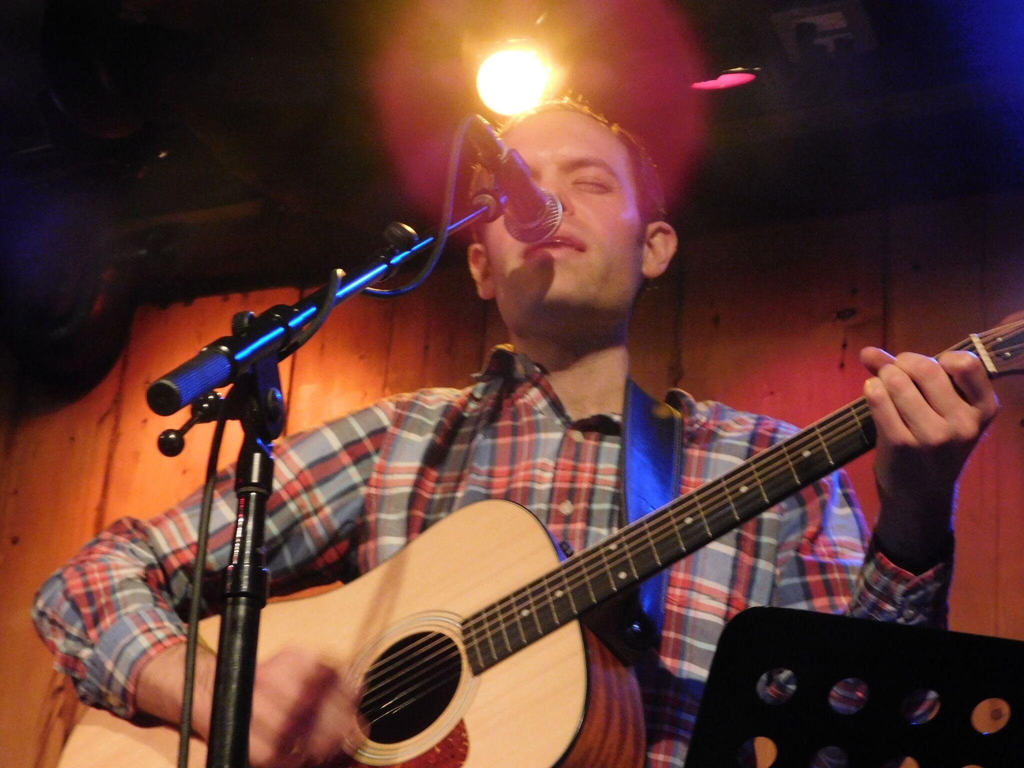 Allen at Rockwood Music Hall