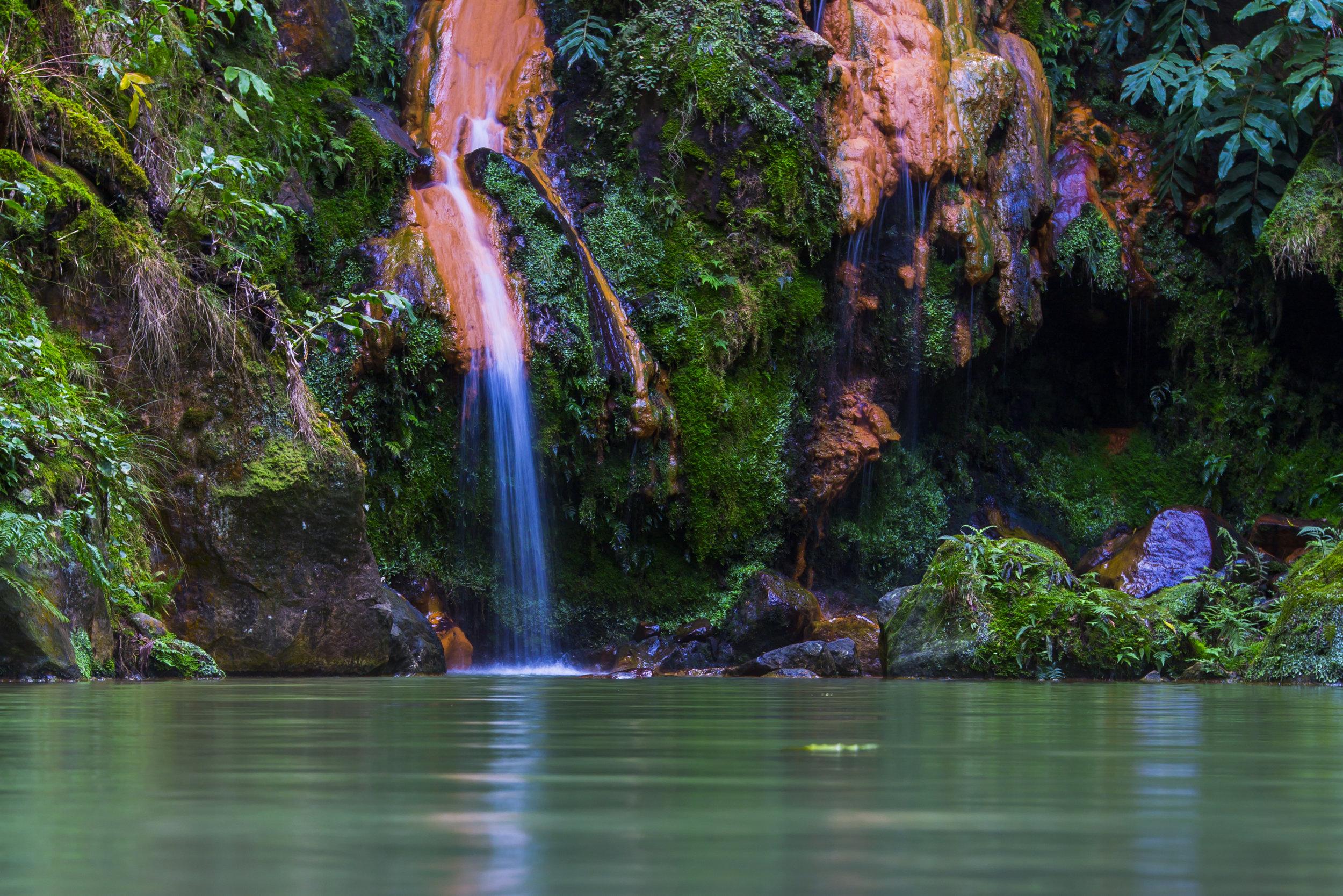 Natural Hot Springs of Lagoa do Fogo