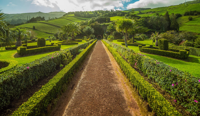 Public gardens in the Nordeste region of Sao Miguel
