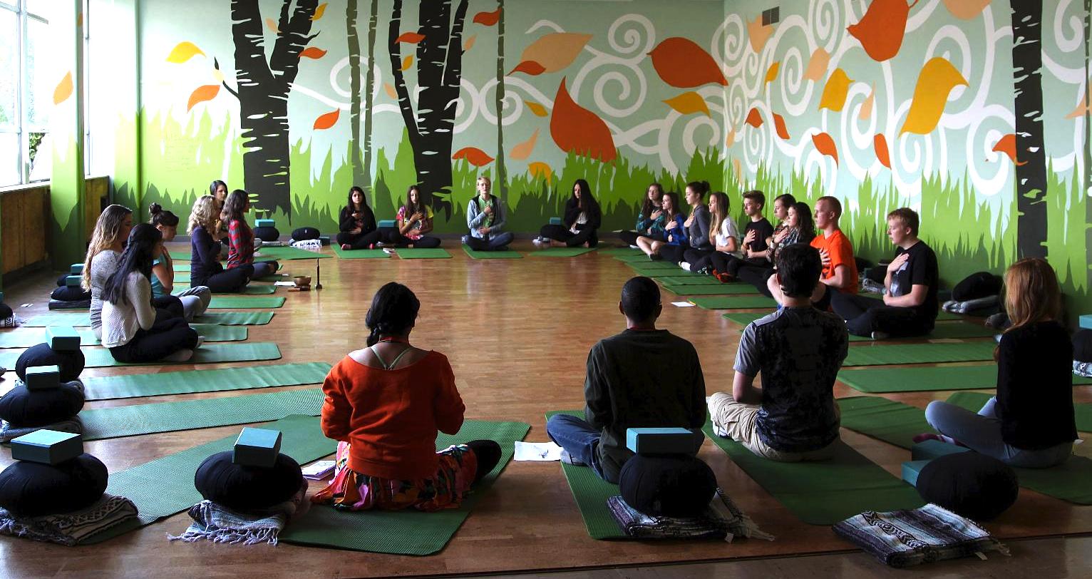 Mindful Studies classroom at Wilson High School