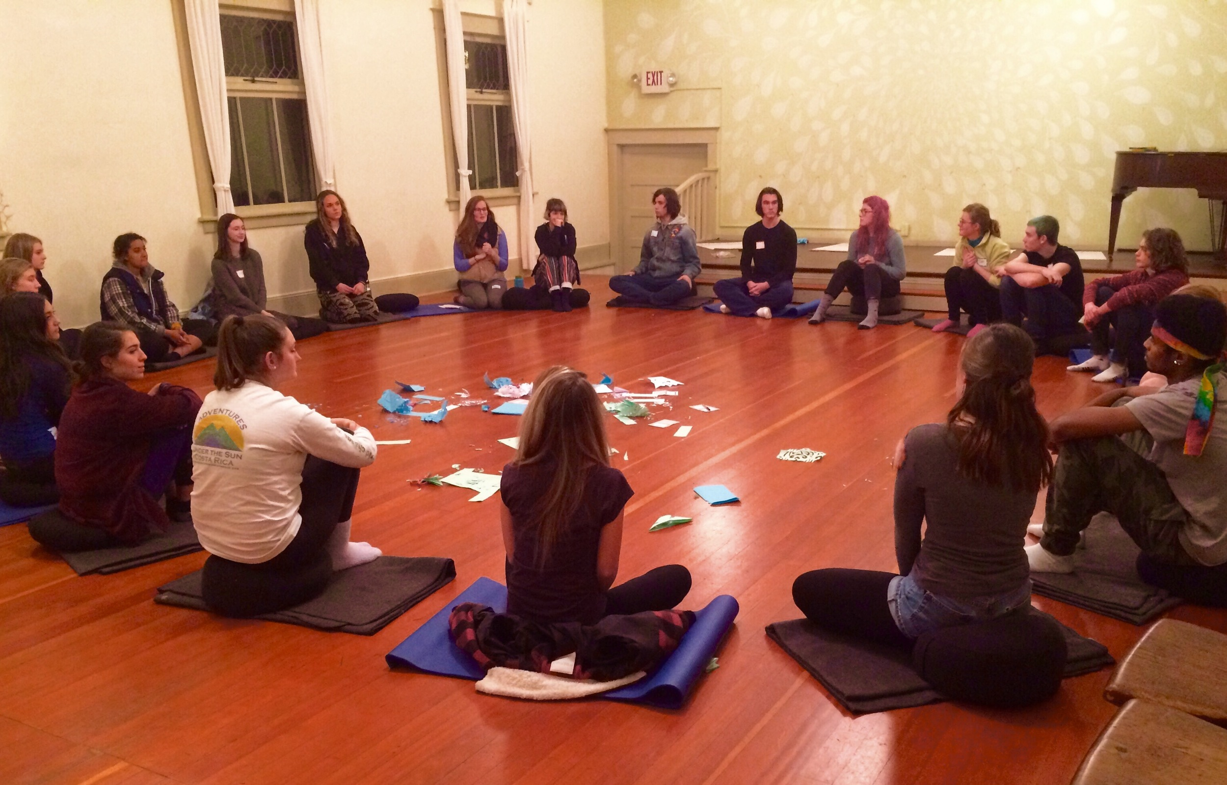 'Keep Calm: A Teen Mindfulness Night' is offered twice a month in Portland.