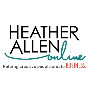 Heather Allen Online  is a tool that helps artists earn more for their craft through pop-up workshops and the Art Business Online accelerator program.