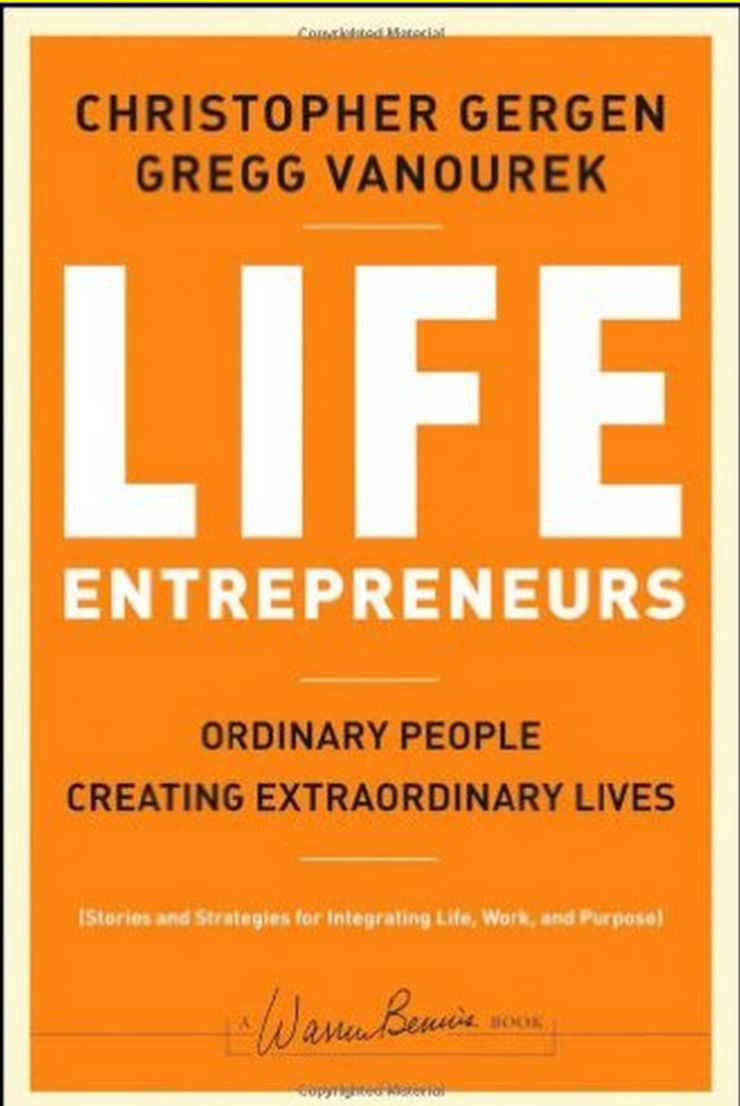 Learn from the Experts:  Christopher Gergen, co-author of this book teaches us about the entrepreneurship lifestyle.