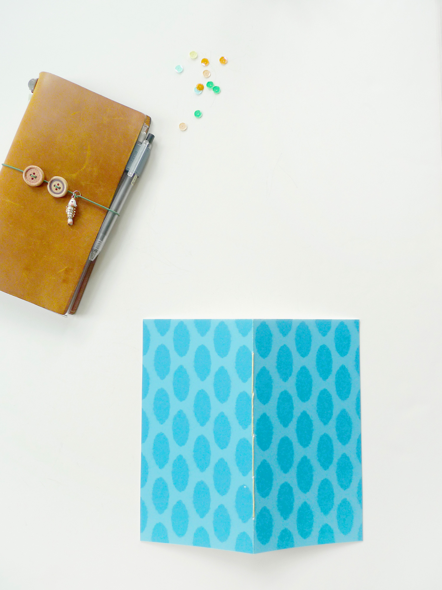 Analog Paper   My Traveler's Notebook Art Journal
