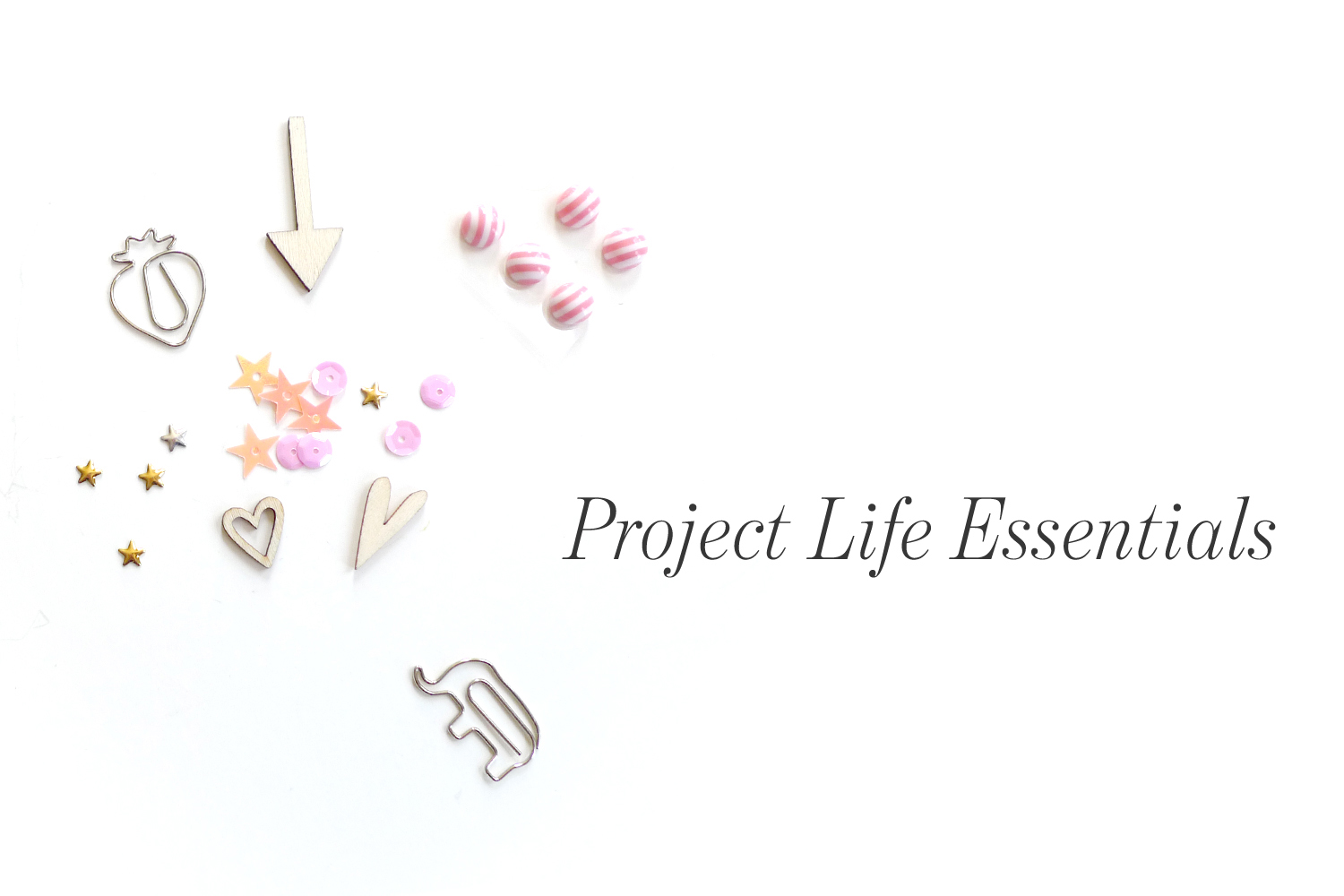 Analog Paper   Project Life Essentials