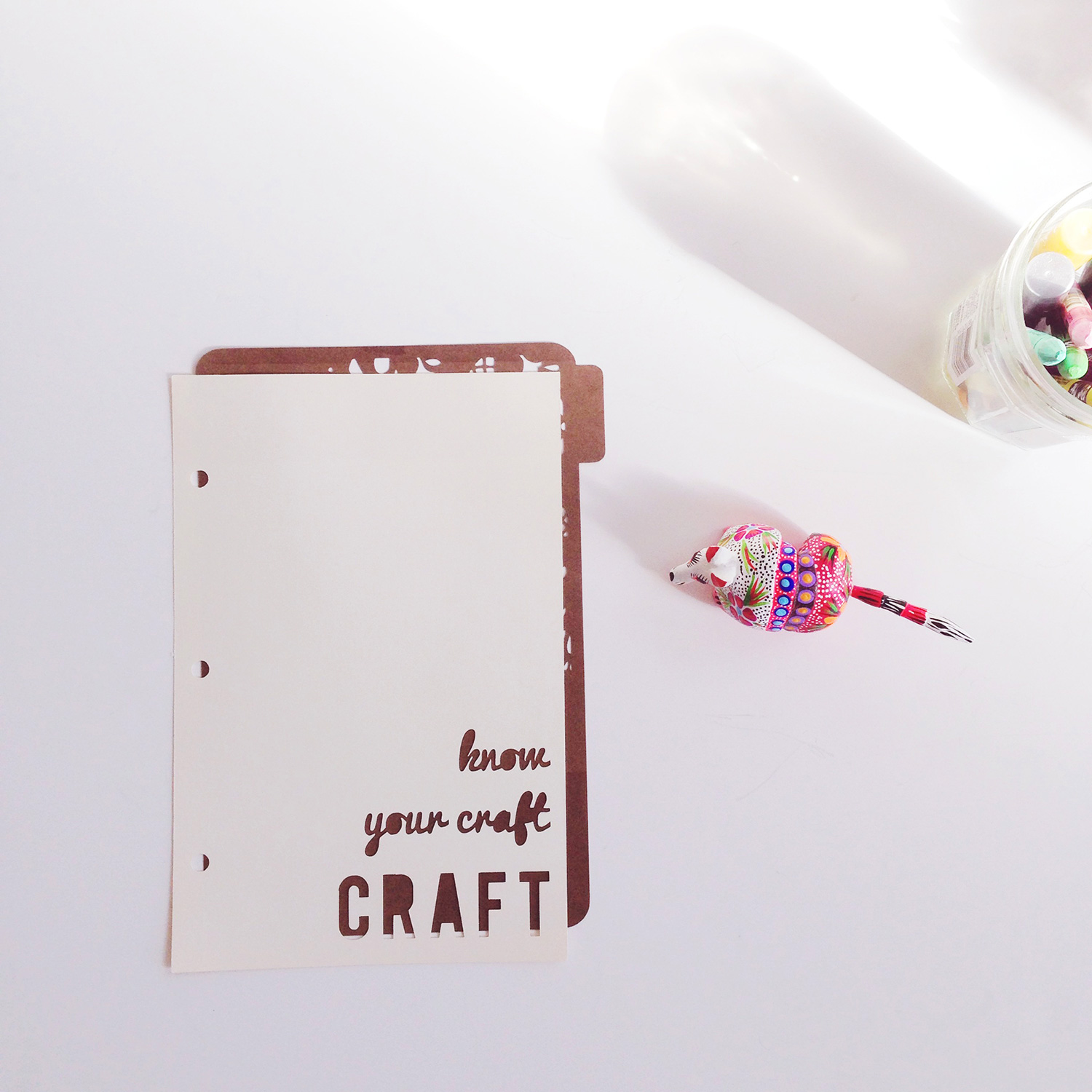 Analog Paper | Workspace | Thoughts on Purging