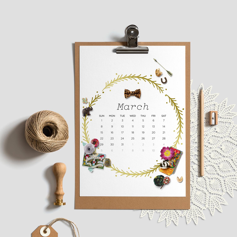 The Little Things 2015 Calendar