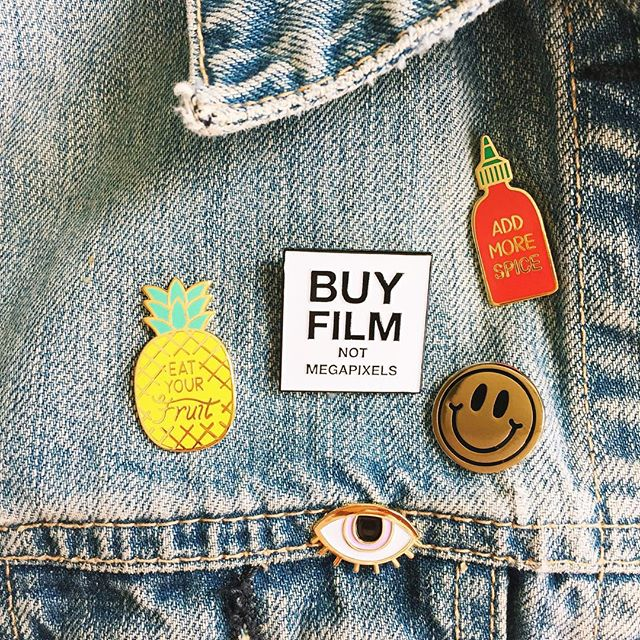Day 4 | denim jacket weather and some new additions  Playing catchup on all the fun things today including #100happydays (Photo of current projects later today)  #pingame #VSCOcam #gradeselect