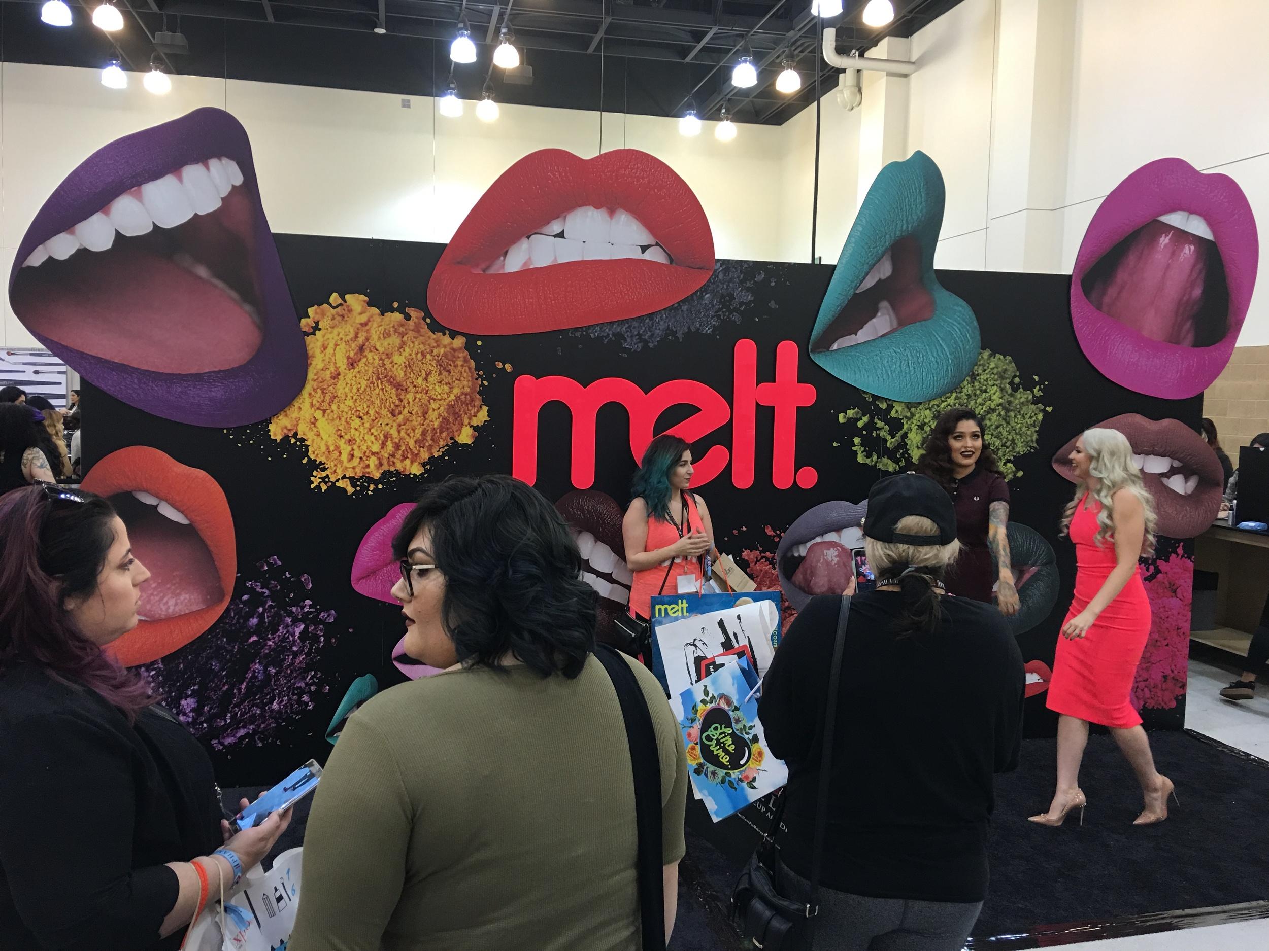 Melt Cosmetics Booth, PHAMExpo Los Angeles 2016